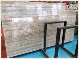 Слябы травертина серебряного серого цвета высокого качества цвета строительного материала для украшения стены