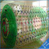 PVC gonflable 0.8mm de la taille 2.5*2.2*1.7 de rouleau de bille de Zorb
