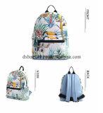 Nuovo sacchetto su ordinazione della tela di canapa delle donne dell'OEM, Backbag