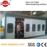 Flat orizzontale Glass Tempering Machine per Glass Factory