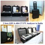 Transformador da distribuição que testa o analisador automático do CT pinta