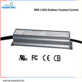 fonte de alimentação ao ar livre do diodo emissor de luz Cccv de 80W 1.05A IP67 para a iluminação