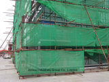 Segurança Net&#160 do andaime da construção;