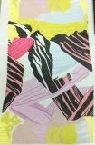 Dress& 치마를 위한 유행 인쇄된 짜임새 Organza 직물