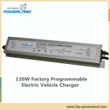 120W programable cargador de batería para vehículo eléctrico con entrada universal