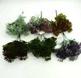 인공 플라스틱 또는 푸른 잎 풀이 나게 하십시오로 5개의 줄기 (XF90266)