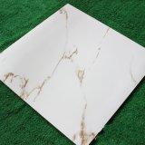 600X600mmの白の大理石の一見の十分に磨かれた艶をかけられた床タイル