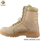 Deserto di cuoio Boots di Collar Military con lo Anti-Slip Outsole (WDB015)