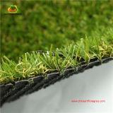 Aménagement de l'herbe synthétique la cour