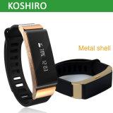 Relógio do bracelete de Bluetooth da tela de Ks-W6 OLED