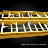 拡張によって絶縁されるステップ梯子の多目的梯子のガラス繊維の梯子
