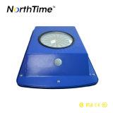 Indicatore luminoso solare della strada del sensore 6W LED di controllo di indicatore luminoso di controllo di tempo PIR
