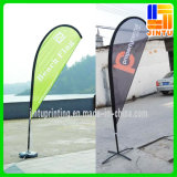 Promozione Flying Banner Feather Flag con Palo