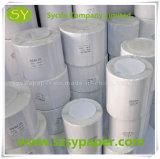 Collant auto-adhésif thermique d'étiquette blanche de roulis pour la logistique