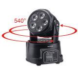 Mini profissional UV de 5X15W Rgbaw que pendura acima da luz