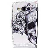 밧줄을%s 가진 Samsung를 위한 인쇄에 의하여 착색되는 당기는 두개골 지갑 자동차 또는 셀룰라 전화 덮개 또는 상자