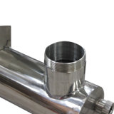 De UVSterilisator van het Roestvrij staal van de Desinfectie van het Water van de aquicultuur