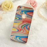 3D coloriu a caixa móvel da tampa do telefone da onda clara TPU para Samusng/iPhone
