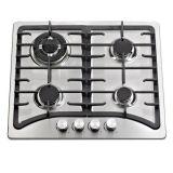 4 quemador precio barato acero inoxidable cocina de gas, estufa de gas