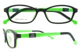 Bâtis en plastique de lunettes de beaux gosses, glaces optiques de gosses bon marché