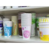 Cold Drinking를 위한 12oz Milk Shake Paper Cup