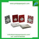 Bolsos determinados de la laminación de la Navidad de Kraft del bolso de encargo del regalo con Bowknot