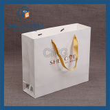 Maniglia bianca del documento di Withtwist del sacchetto di elemento portante del mestiere (DM-GPBB-051)