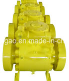 Incendio Safe 3PC Trunnion Ball Valve
