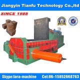 balle en acier de rebut de la presse 125t en aluminium faisant la machine