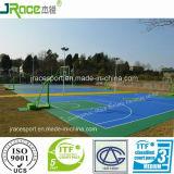 Materiale esterno della pavimentazione del campo da pallacanestro del certificato del CE