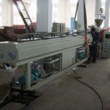 tubo gemelo del PVC del estirador de tornillo 500-600kg/H que hace la línea de la protuberancia de la máquina/del tubo