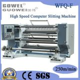 Computador de alta velocidade que corta a maquinaria para BOPP (WFQ-F)