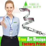 Factory Wholesale Promotie Custom Logo keycord met een ID-kaart houder