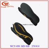 Новые сандалии Outsole самое лучшее продавая MD+Rubber/TPR Outsole собрания