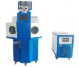 Máquina de soldadura automática do laser para a prata do ouro