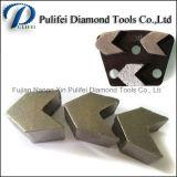 금속 패드를 위한 구체적인 지면 지상 갈기 다이아몬드 가는 세그먼트