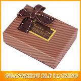 Caja de papel personalizado envases de cartón para Chocolate