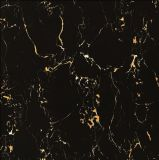 صقل لوح سوداء تماما يزجّج خزي [فلوور تيل] خزفيّ ([وغ-6312])