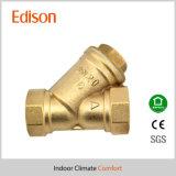 Tipo de cobre amarillo válvula del filtro del tamiz (BAHÍAS) de Y
