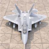 Fuentes materiales del aeroplano modelo de Dynam EPS de la espuma eléctrica de F-22 2.4G