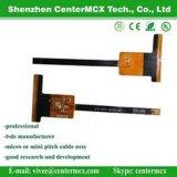 Kabel van het Lint van Costom de Flexibele Vlakke met de Micro- Schakelaar van de Gelijke