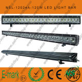 IP67, 120W DEL hors de Road Light Bar, Spot/Flood/combo 24PCS*5W Creee DEL hors de Road Light Bar