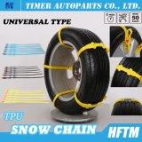 Correntes de pneu das correntes de neve do cabo de correntes da roda para carros