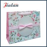 Цветки цвета слоновой кости высокого качества бумажные & мешок подарка покупкы Bowknot бумажный