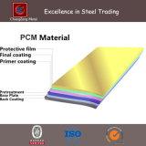 Bobina del PCM del rivestimento di colore del TUFFO caldo/strato d'acciaio (CZ-S68)