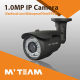 Gewehrkugel IP-Kamera 720p 1.0MP wasserdicht mit IR geschnittenem vollem HD CCTV-Kamera-China-Fabrik-Großverkauf