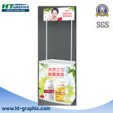 Tableau portatif de promotion de supermarché d'ABS pour la publicité