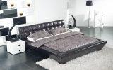 프레임을%s 가진 침실 가구 현대 특대 가죽 연약한 침대