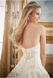 2016 новый Горяч-Продавая Bridal a - линия подгонянное платье венчания,