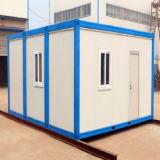 Construção provisória da casa do abrigo do recipiente de aço Prefab